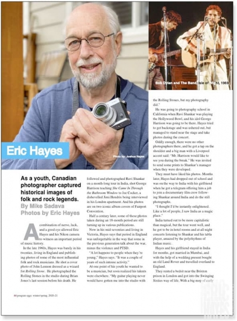 Eric Hayes article preview