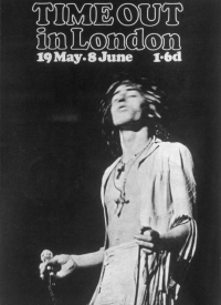 Roger Daltrey, The Who, Time Out in London, 1969