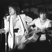 Rolling Stones: Mick Jagger and Keith Richards at Oshawa CNIB benefit 1979