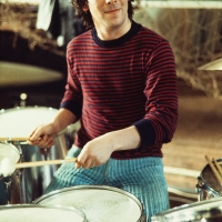 The Who: drummer Keith Moon during 'Tommy' rehearsal session.