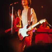 Rolling Stones: Mick Jagger at Oshawa CNIB benefit 1979