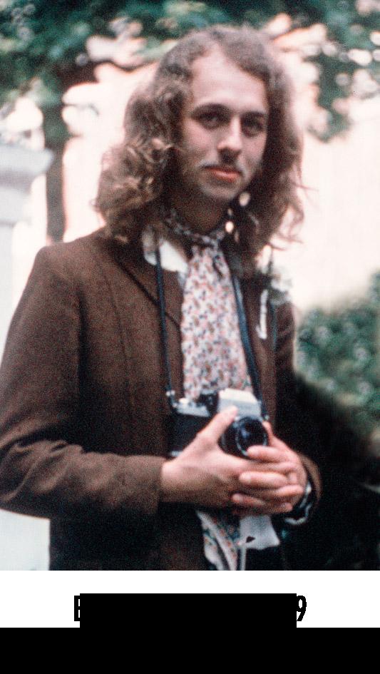 Eric Hayes, London 1969